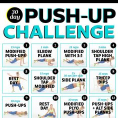 Your 30-Day Push-Up Challenge - Fitnessmagazine.com