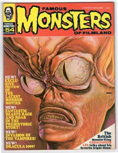 Famous Monsters of Filmland # 54 NM 1969
