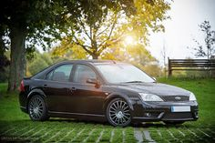 Black amazing Ford Mondeo MK3 ST220 #ST #RS 3.0 V6 5 Doors