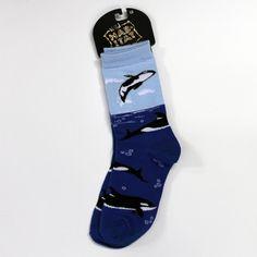 Killer Whale Socks