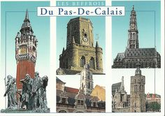 The postcard came from France