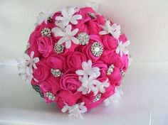 wedding   pink bouquet