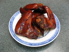 Grilled Bourbon Chicken Wings (燒烤波本鷄翼, Siu1 Haau1 Bo1 Bun2 Gai1 Jik6)
