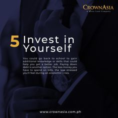 Stocks can perform even during a recession – you just need to know which ones. Here are five investments to consider when a recession hits. Investment Tips, Going Back To School, Good Job, 5 Things, Need To Know, Investing, Knowledge, Feelings, Facts