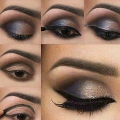 Dark brown Cut Crease