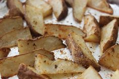 Make and share this Easy Baked Potato Wedges recipe from Food.com.
