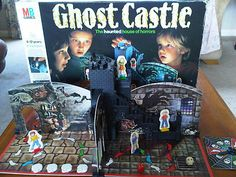 Ghost Castle. The best thing here was the Mousetrap-style traps in each room activated by rolling a little luminous plastic skull down the central stairs!