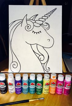 How To Paint A Unicorn Description Are you ready to channel your inner Lisa