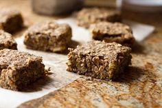 On The Glow Basic Oatmeal Squares