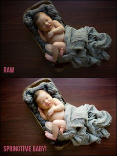 Amazing Photo Edits in 1-Click - The Essential Newborn Lightroom Presets Collection is Here.