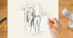 Kunnen wij jou tekenen? Klik hier en kijk eens naar je foto!