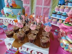 Biscuitando : Peppa Pig Poças de Lama 3rd Birthday, Birthday Parties, Birthday Ideas, George Pig Party, Cumple Peppa Pig, To My Daughter, Cake, Party Ideas, Picnics