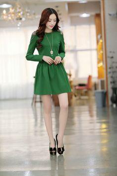 Long Sleeve, Spring, Elegant Dress, YRB2055, YRB Fashion, Elegant Lady, Free Shipping, online Clothing, Womens