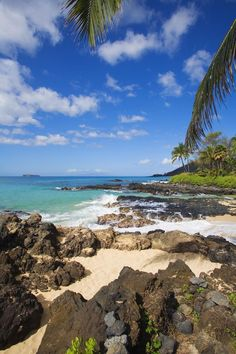 Kauapea beach in Hawaii
