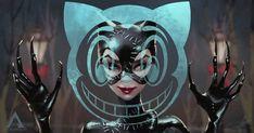 ArtStation - BATMAN RETURNS (1992), ARCH APOLAR Spiderman Vs Superman, Batman Returns 1992, Tim Burton Films, Batman Artwork, Film Studies, Comics Universe, Visual Development, Alien Logo, Catwoman