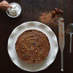 raw chocolatecake