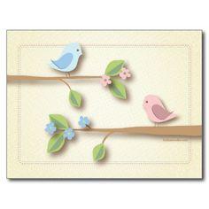 Palavras doces do chá de fraldas do passarinho do