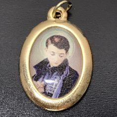 Gabriel Of The Sorrowful Mother - Pendant - Charm - Passionist Catholic Medals, Catholic Books, Catholic Gifts, Catholic Art, Religious Gifts, Pope Pius Xii, Saint Gabriel, Lady Of Lourdes, Our Lady Of Sorrows