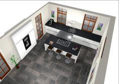 1000 images about eiland keukens on pinterest van met and showroom - Winkel raam keuken ...