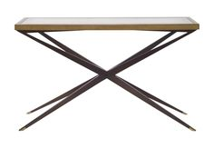 Atlantis Console Table  MidCentury  Modern, Contemporary, Transitional, Wood, Mirror, Console Table by Mr Brown London (=)