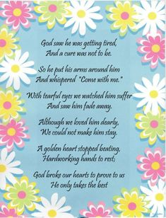 Prayer for My Brother   Sorry about your loss,you and your loved ones will be in my prayers.