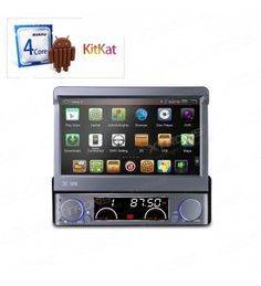 """D766A - 7"""" HD Android 4.4.4 KitKat Quad Core Single Din Car DVD Player with Screen Mirroring Function & OBD2, It has Superior Quad-core CPU Processor which has more storage space, faster and smoother processing speed. Have one is your good choice. http://xtrons.co.uk/d766a-7-android-4-44-kitkat-quad-core-car-dvd-player-with-screen-mirroring-function-obd2.html"""