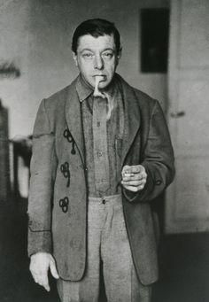 André Kertész: Tihanyi Lajos, Paris, 1926