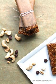 Homemade Larabars | The Sweet Life