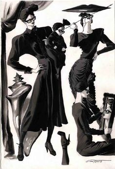Antonio Lopez for Nordstrom, 1985.  Rather Daliesque... no?
