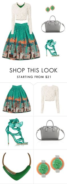 """""""Untitled #123"""" by nimani-arteida ❤ liked on Polyvore featuring A.L.C., Brian Atwood, Givenchy, Monet and Kenneth Jay Lane"""
