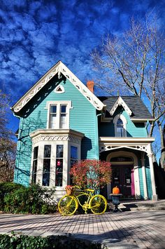 Turquoise Victorian