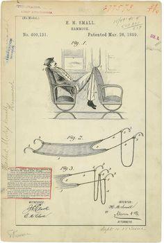 1889. Гамак для сидячего вагона.