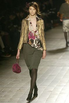 Dries Van Noten | Fall 2005 Ready-to-Wear Collection | Style.com