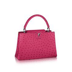 401223e7f6 Discover Louis Vuitton Capucines MM via Louis Vuitton Louis Vuitton  Capucine