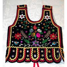 Fashion Vocabulary, Christmas Sweaters, Apron, Folk, Costumes, Polish, Needlepoint, Turtle, Embroidery