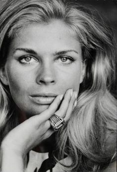 """An original black and white photograph of Candice Bergen by Peter Basch. Artist stamp on verso, notations present, including """"Candice Bergen in Greece for """"Day The Fish Came Out."""" This refers to the 1967 film starring Bergen. Pretty People, Beautiful People, Beautiful Women, Divas, Michel Polnareff, Candice Bergen, Farrah Fawcett, The Victim, Famous Women"""