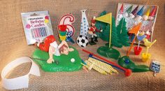 Vintage 1960s CAKE DECORATING Supplies Toppers by TheMaineCoonCat, $8.95