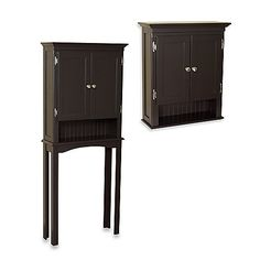 Fairmont Espresso bathroom Cabinets