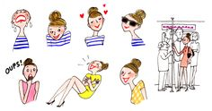 Marie Bastille News !!: Dites-le avec des illustrations de Kanako !!