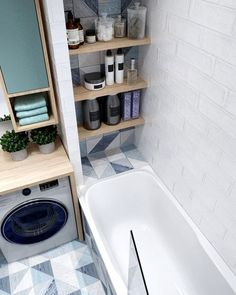 Beautiful bathroom ideas that are decor. Modern Farmhouse, Rustic Modern, Classic, light and bathroom that is airy ideas. Bathroom makeover ideas and bathroom remodel ideas. Bathroom Layout, Bathroom Interior Design, Bathroom Storage, Bathroom Ideas, Bathroom Organization, Bathroom Shelves, Budget Bathroom, Tile Layout, Bathroom Designs