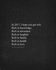 True wealth.