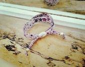 Bracelet ruban étoiles Signé Fanny : Bracelet par signe-fanny