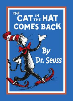 Providing you can find a cat costume, adding the trimings to turn it into 'Cat in the Hat' is quite straightforward: make a tall red and white hat from card, add a big red bow tie, white gloves and some red slippers with bells.