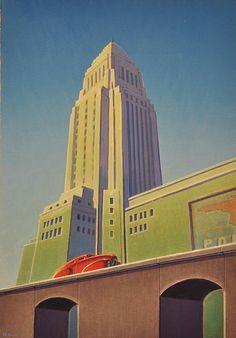 Los Angeles by Robert LaDuke, via Flickr