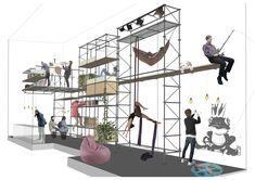 Mueble Habitable - Andamios