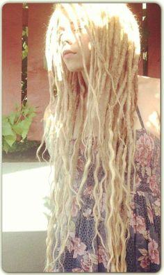 Beautyfull blond dreadlocks #dreads #dreadhead #dreadlocks
