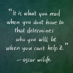 Oscar Wilde! http://powells.us/1loZbgT