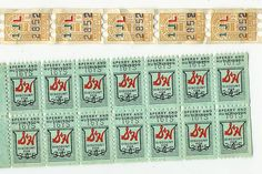 S Green Stamps - I used to have to put them in the books for my mom.