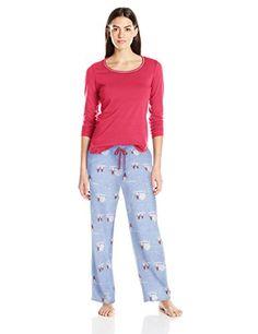 7bd93118a2 Jockey Women s Microfleece Pajama Set