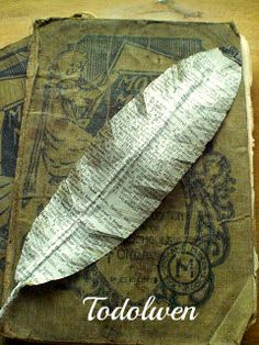 Todolwen (new): A New Tutorial ~ Hymn Page Feathers